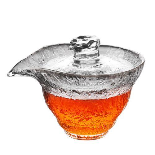 NESTLADY Japanese Raindrop Gaiwan Tea Cup
