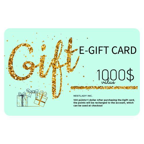 NESTLADY EGift Card Value $1000