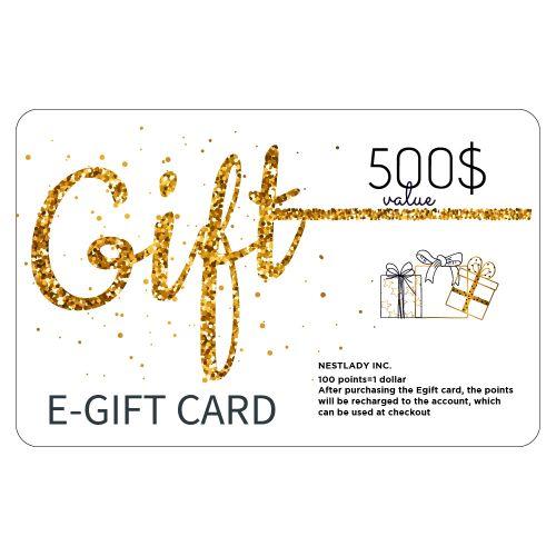 NESTLADY EGift Card Value $500