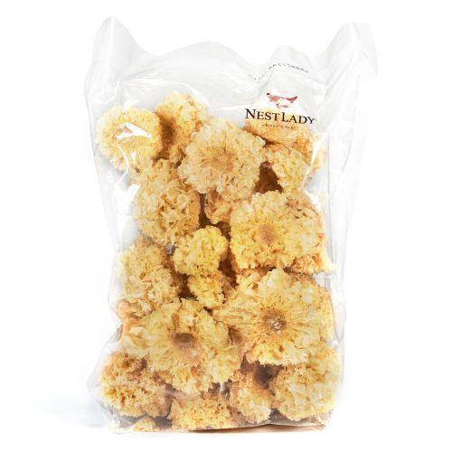 "Nestlady Dried White Fungus ""White Tremella Mushroom"" 250g-Dried/ 100% Natural"