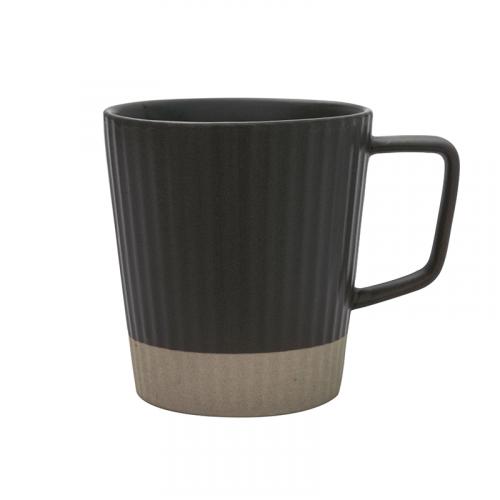NESTLADY Ceramic Mug (Dark Grey)