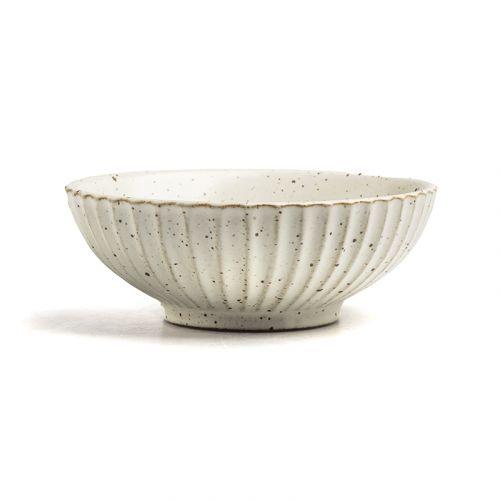 NESTLADY Japanese style Milky White Bowl