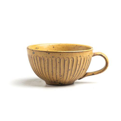 NESTLADY Impression Orange Handle Bowl