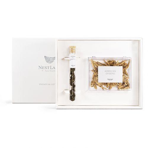 NESTLADY American Ginseng & Ginseng Flower Premium Gift Set