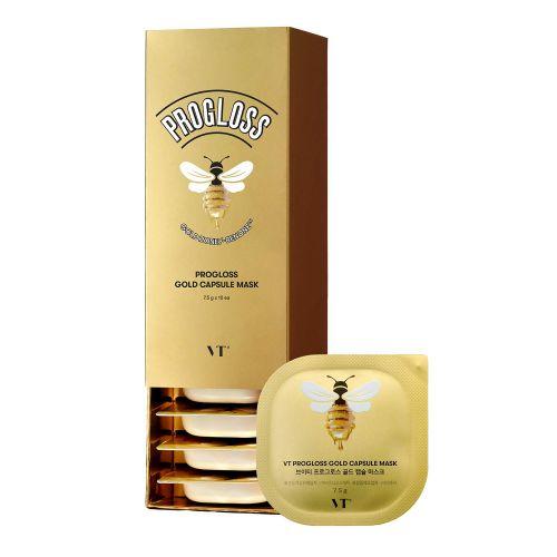 VT COSMETICS PROGLOSS Gold Capsule Mask 10EA